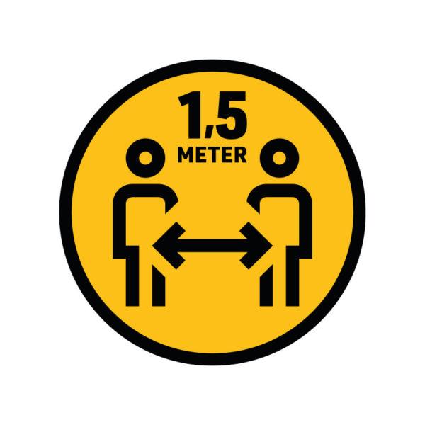 Bedrukte Corona Sticker