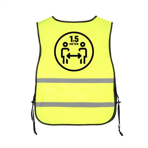 Bedrukt Corona veiligheidshesje